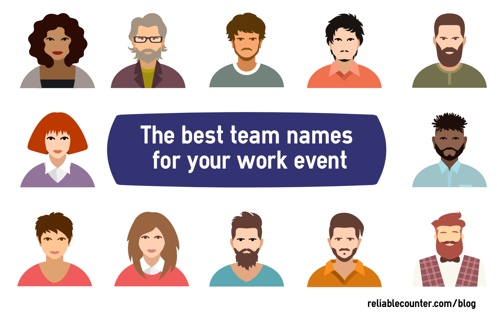 Choosing the best team names for your work event