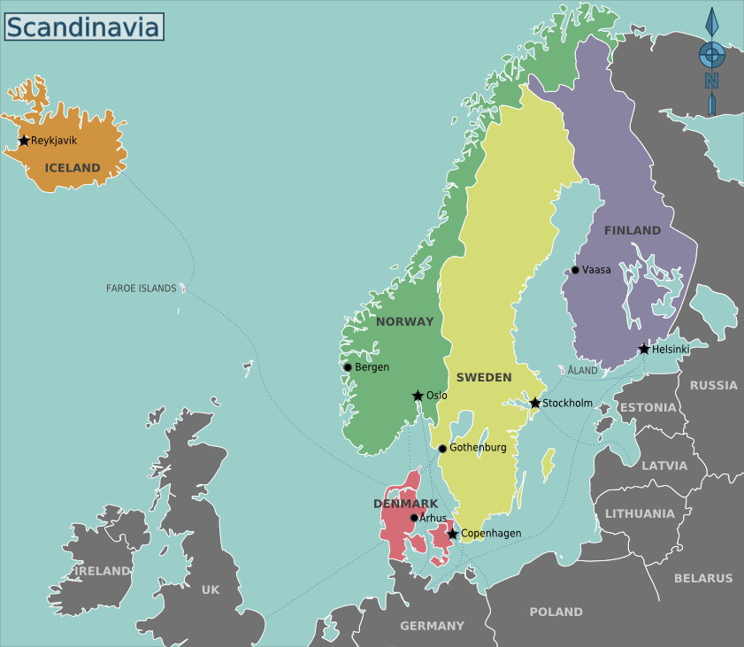 Pros and cons setting up a business in Scandinavia