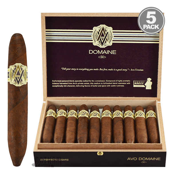 All About the Avo Domaine Cigars