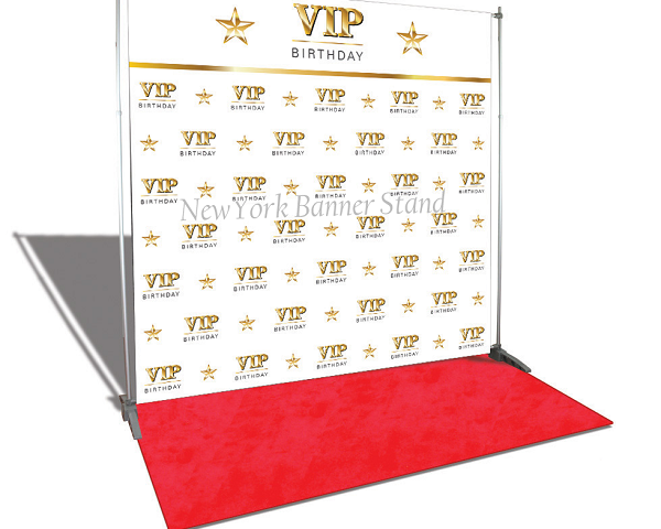 Organizing Events with Red Carpets and Backdrops!