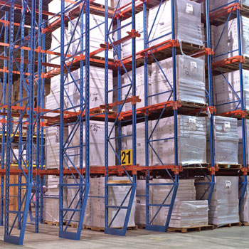 New efficient storage system –  Drive in racking