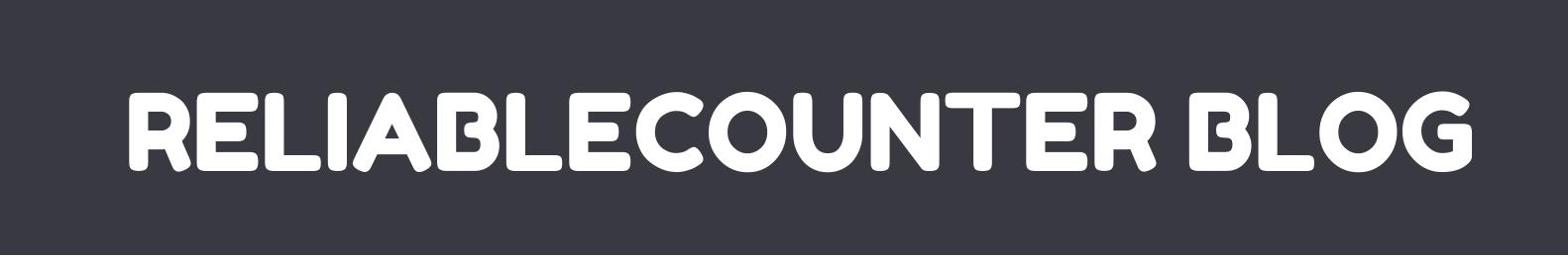 reliablecounter  blog