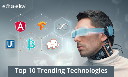 Top 5 Trending Technologies of 2019