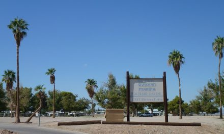 Travelling To Blythe, California