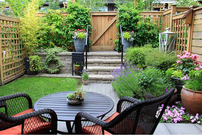 7 WAYS TO MAKE THE MOST OF SMALL OUTDOOR SPACES