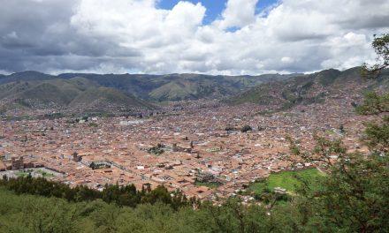 The City of Cusco in Peru
