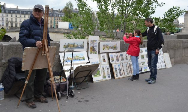 7 Types of Street Artists in Paris