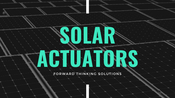Actuator Solutions for the Solar Industry