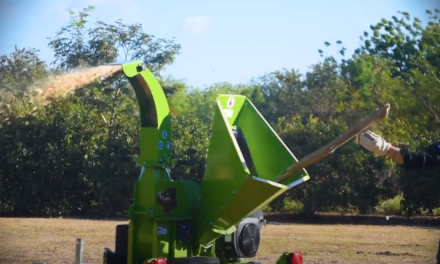 Why own a Gravity-Feed Wood Chipper?