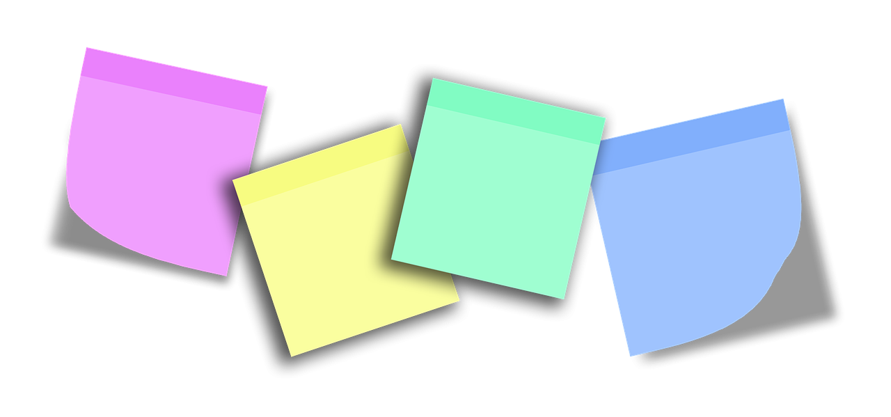 50 ways to use post-it notes