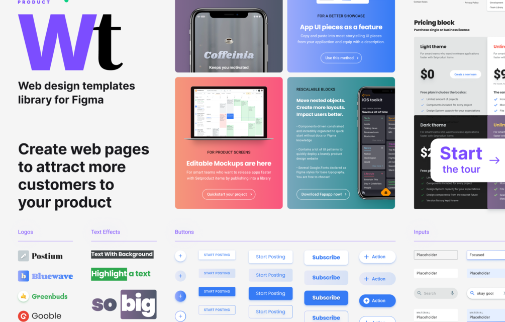 Figma Templates: Take your business to the next level