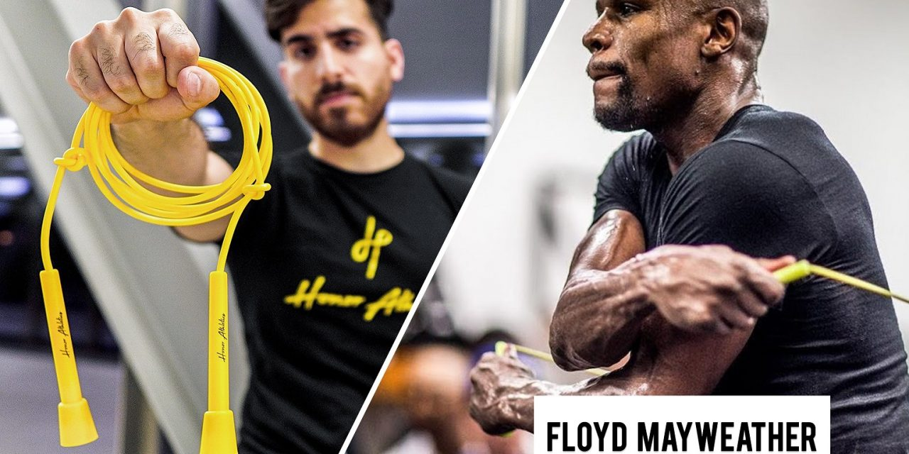 Floyd Mayweather And His Amazing Jump rope!