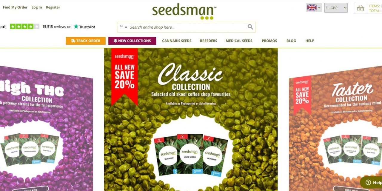 Seedsman Seeds Available In Seed-City Seed Bank