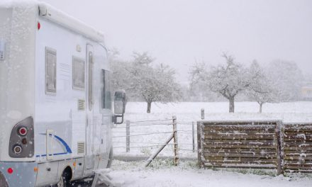 Everything You Need To Know RV Skirting & Winter