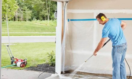 Tips for Pressure Washing Your Cement Garage Floor