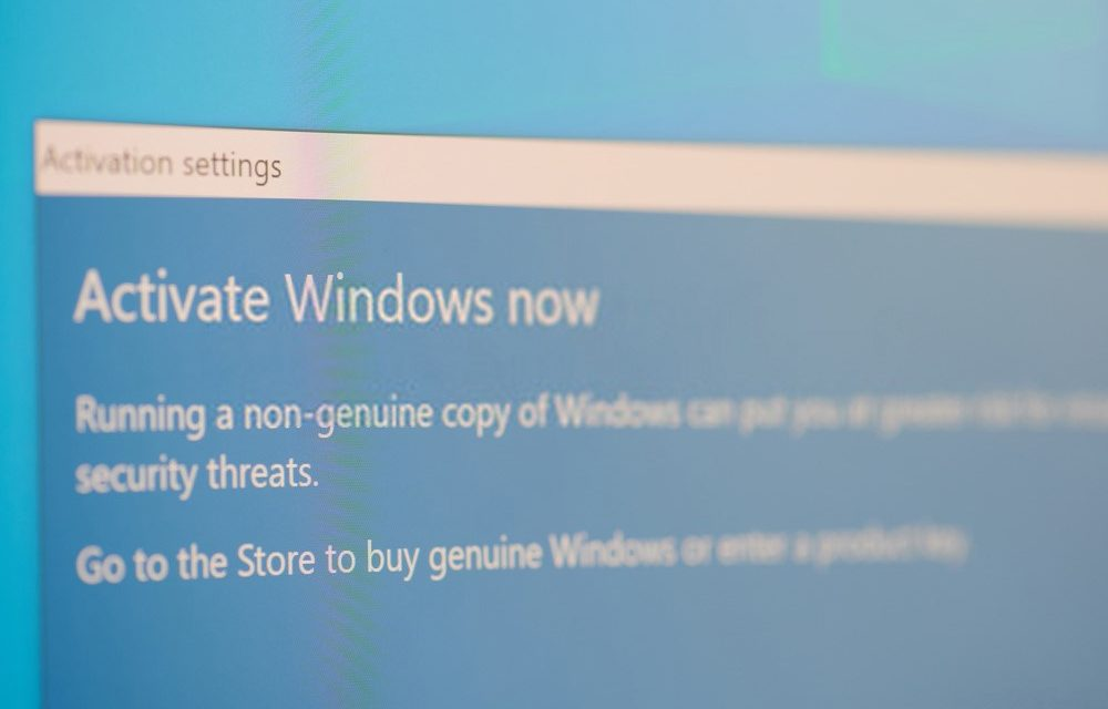How to activate Windows 10 for free?