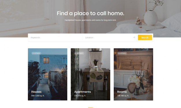 The Ultimate Free Directory, Listing and Classifieds WordPress Theme